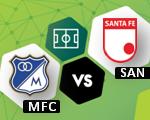 Santa Fe vs Millonarios | Noticias del clásico capitalino