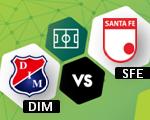 DIM vs Santa Fe | Superliga Águila Colombia | Noticias