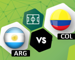 Colombia vs Argentina | Eliminatorias Mundial Rusia 2018