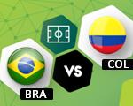 Colombia vs Brasil | Eliminatorias Mundial Rusia 2018