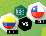 Colombia vs Chile | Eliminatorias Mundial Rusia 2018